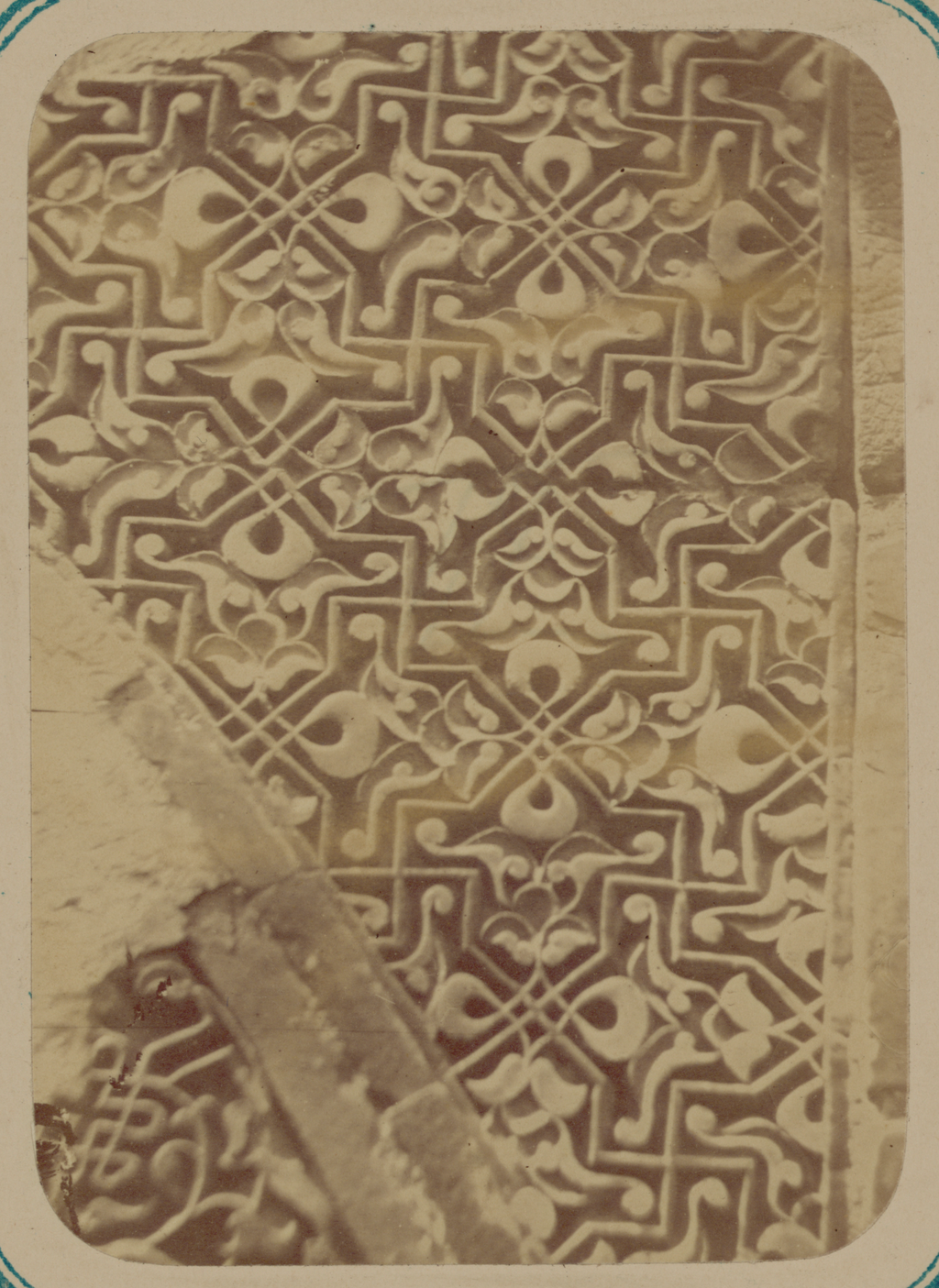 Мавзолей Ходжа Ахмада. Часть отделки внешнего фасада