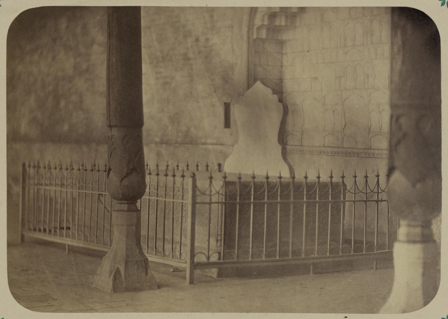 Дворец бухарских эмиров «Кок Таш». Трон эмиров Кок Таш в приемной зале