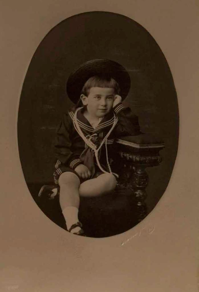 1870-е - начало 1880. Великий князь Борис Владимирович ребенком