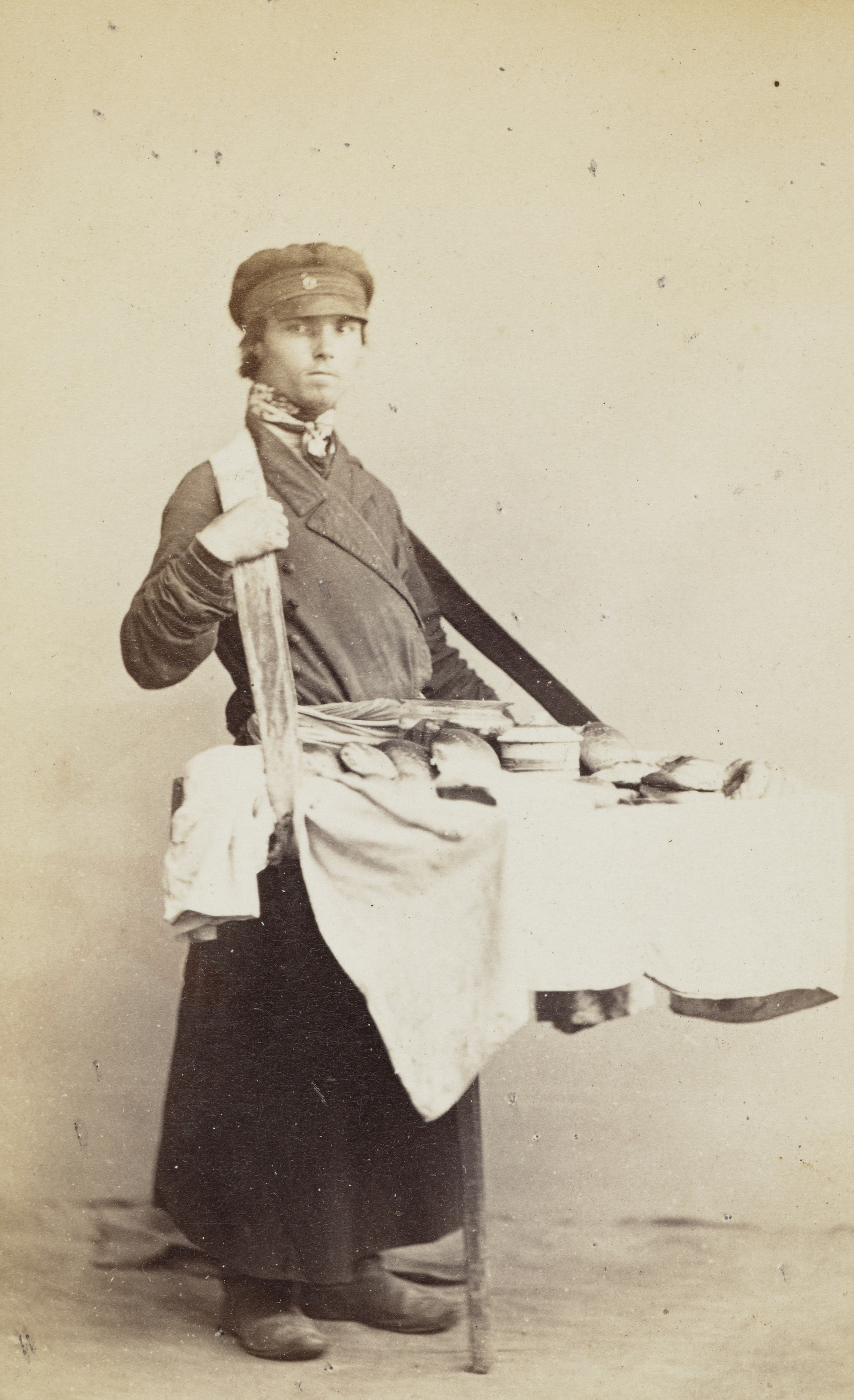 Продавец пирогов