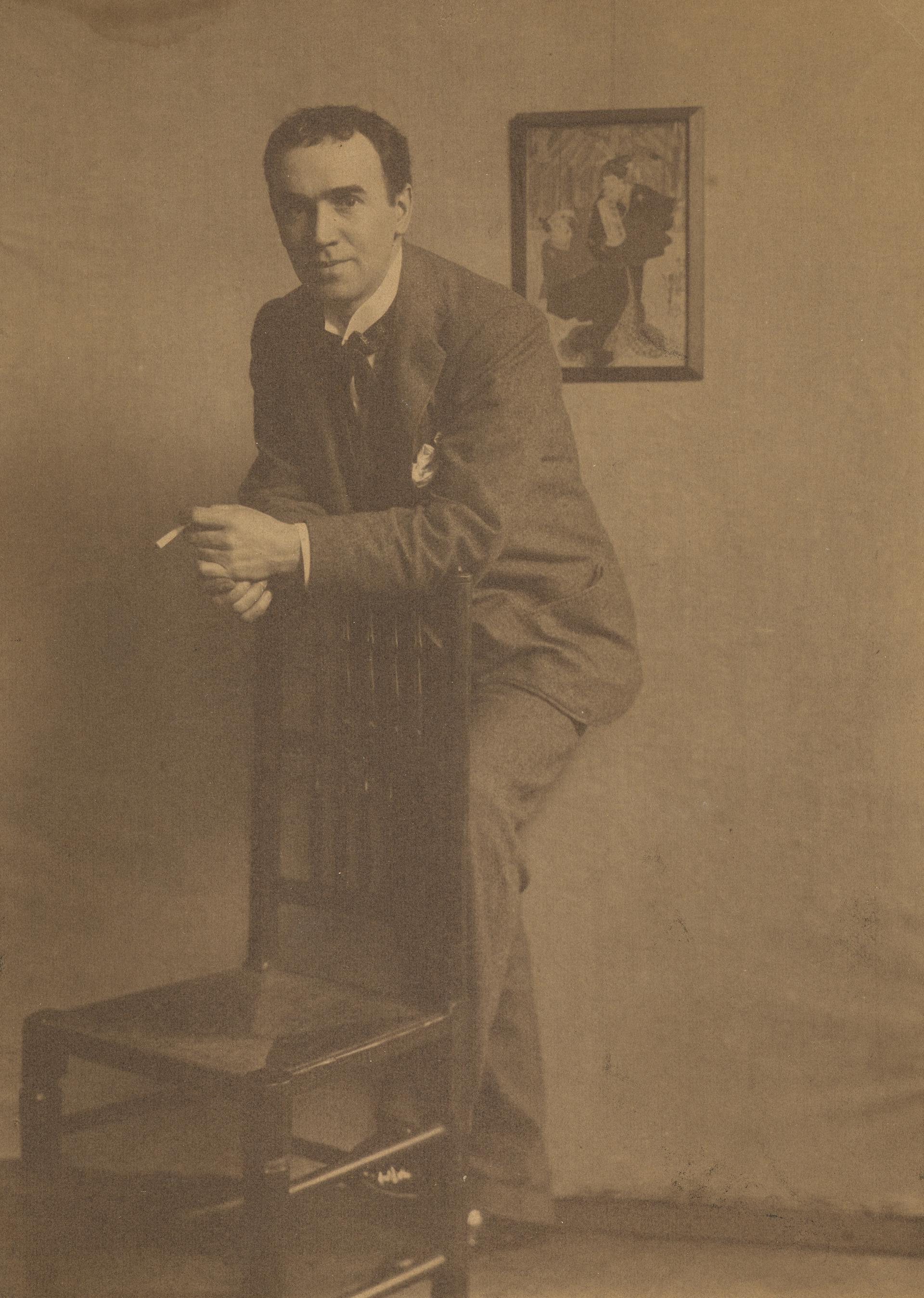 1900-е. Эдвард Артур Уолтон — шотландский художник-постимпрессионист и реалист, один из известнейших представителей художественной группы Глазго Бойс.
