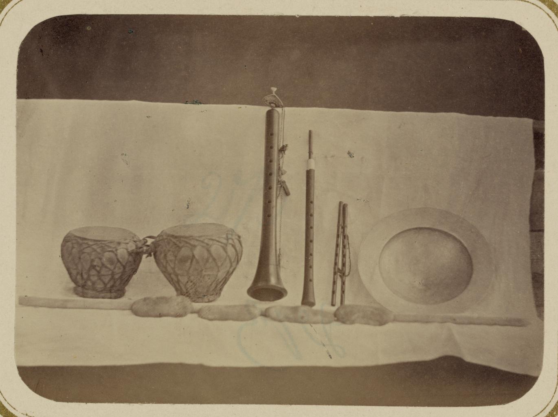 Музыкальные инструменты и музыканты. Различные музыкальные инструменты, включая кошнай