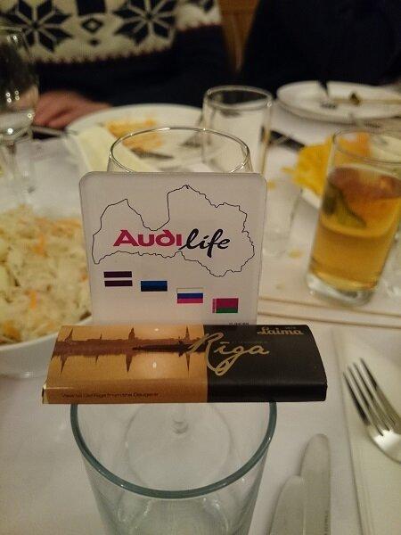 Старый Новый Год 2014 в гостях у Audi life Latvija