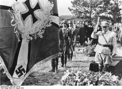 Beisetzung von Generaloberst Jeschonnek