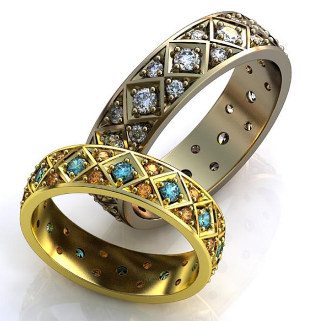 эксклюзивные обручальные кольца