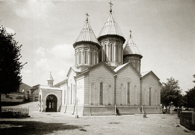 Cathedral of Saint George, Tiflis, c. 1890's. Photo by Dmitry Yermakov