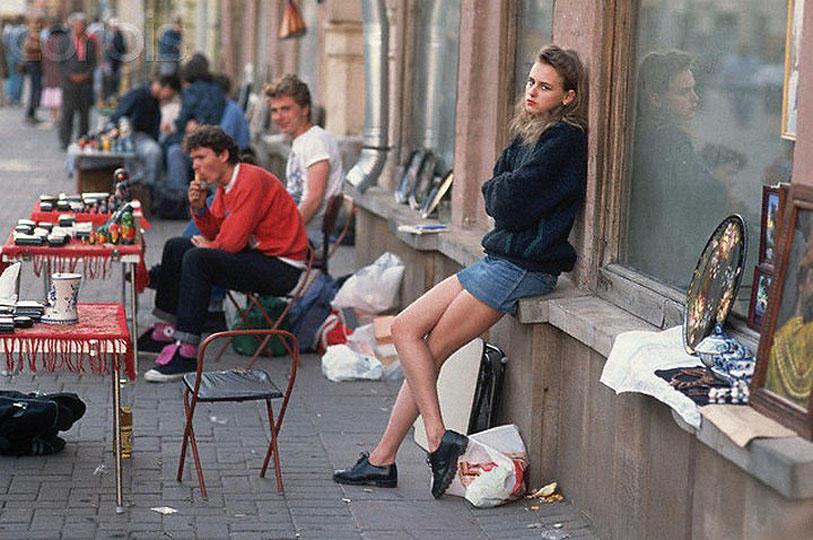 Street Vendors on Arbat Street