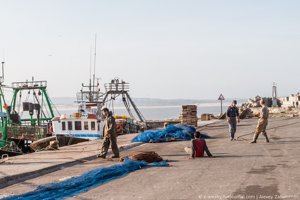 Марокко: порт Эс-Сувейры