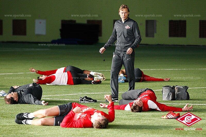 «Спартак» провел тренировку в Сокольниках (Фото)