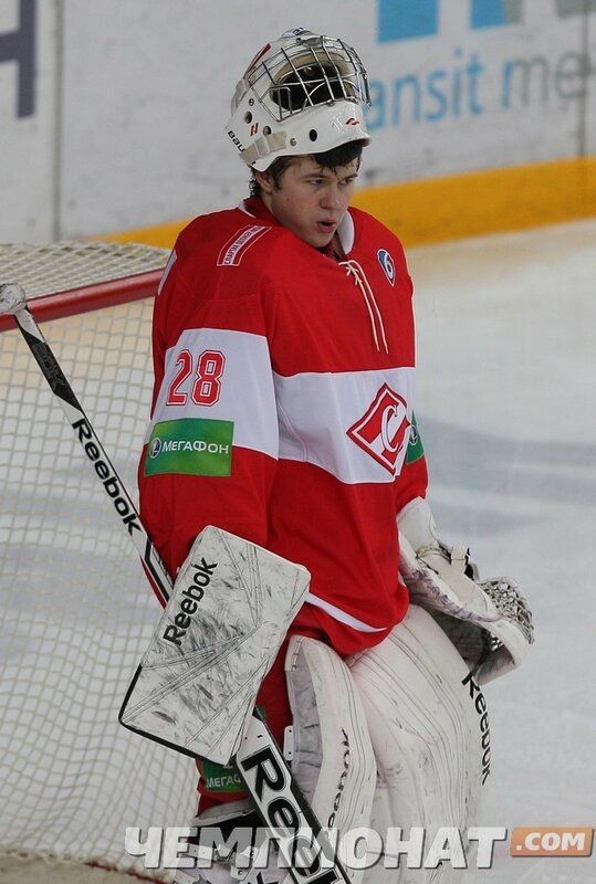 «Спартак» vs «Северсталь» 0:7 чемпионат КХЛ 2013-2014 (Фото)