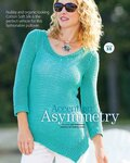 Пуловер С Асимметричным Краем