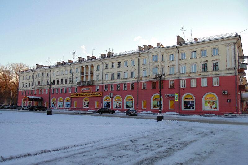 Городской пейзаж. Зима.
