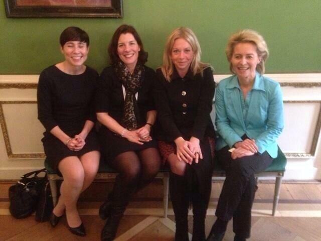 Министры обороны Норвегии, Швеции, Нидерландов и Германии