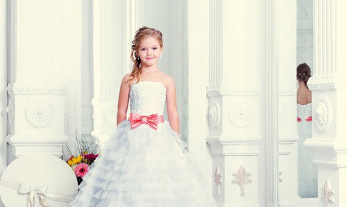 Выпускные платья для самых маленьких модниц в 2014 году