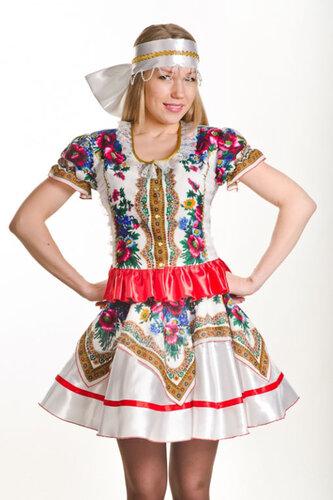Женский карнавальный костюм Русский народный