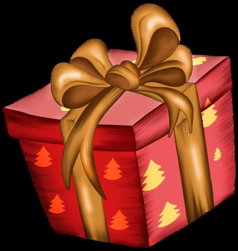 Новогодний подарок открытка поздравление картинка