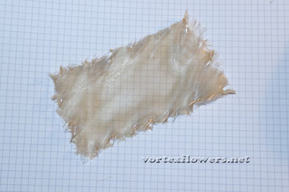 Как сделать простой бантик из ткани