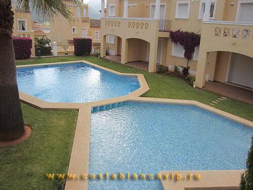 Апартаменты в Denia, гольф клуб, апартаменты в гольф клубе, закрытый жилой комплекс, Квартира в Denia, Квартира в Дении, недвижимость в Дении, квартира от банка, залоговая недвижимость, недвижимость от банка, квартира в Испании, недвижимость в Испании, CostablancaVIP, Коста Бланка
