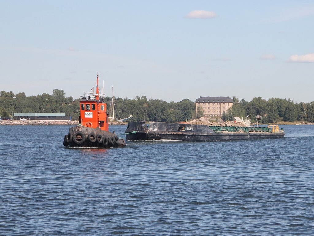 Helsinki, the South harbour