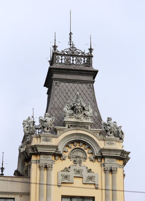 Барселона. Здание Управления порта
