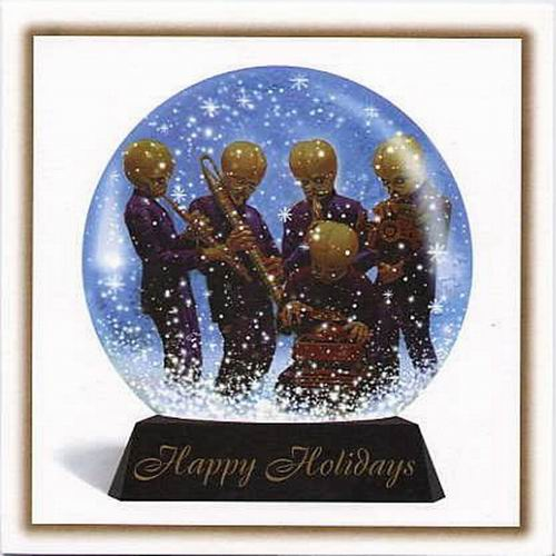 Рождественские открытки от ©Lucasfilm. 1977–2011гг