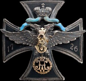 Знак Лейб-гвардии Санкт-Петербургского полка.