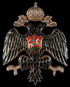 Знак для членов Императорского Русского Военно-Исторического Общества 2-й степени.