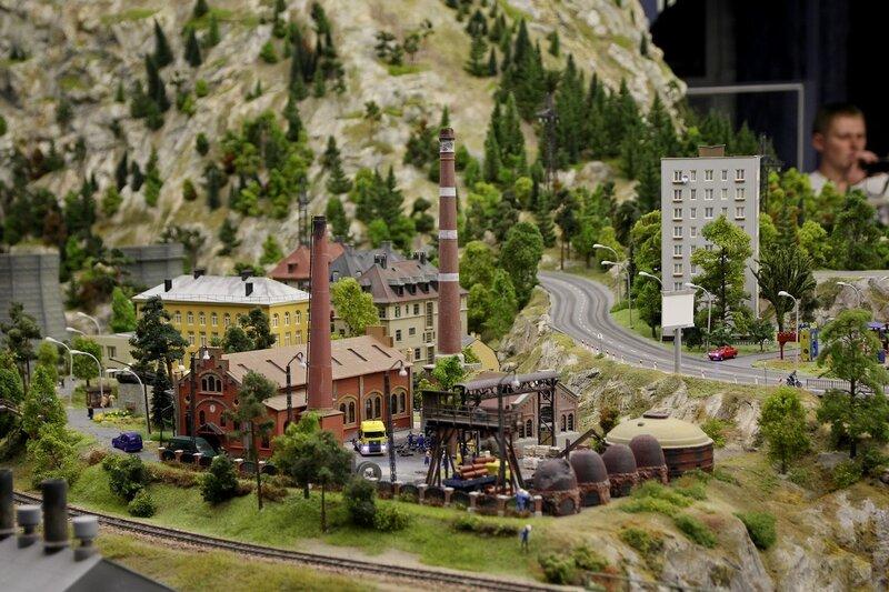 Гранд макет: старая котельная или кирпичный завод