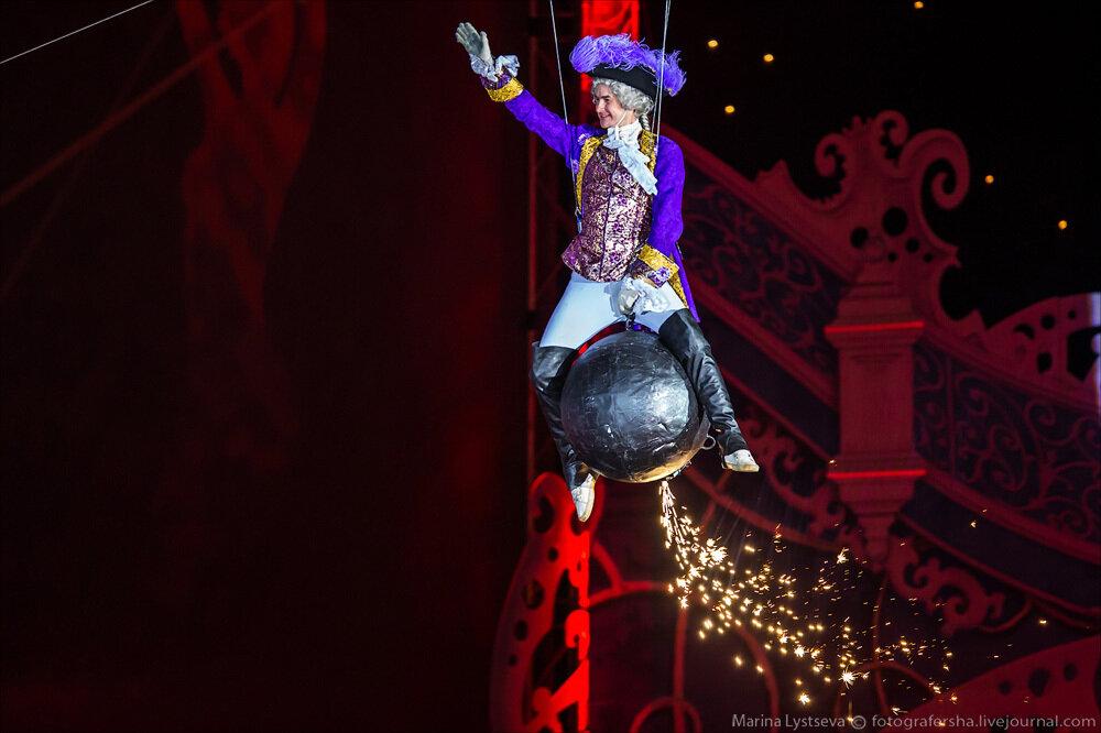 Цирк Деда Мороза в Олимпийском