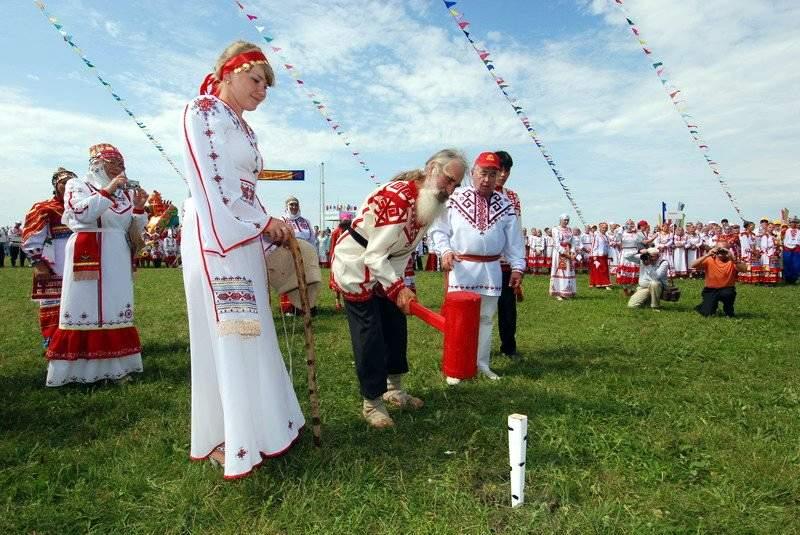 Чувашский праздник Уяв