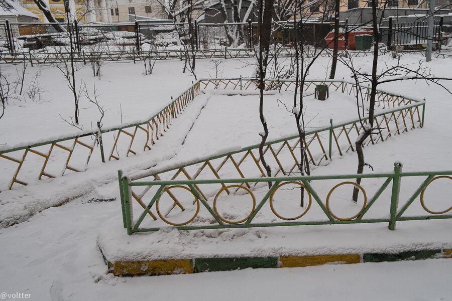 Московский забор
