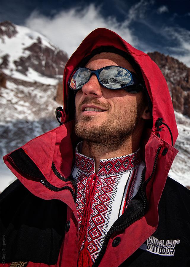 украинский альпинист