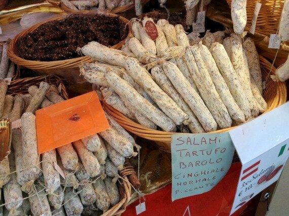 итальянская колбаса салями