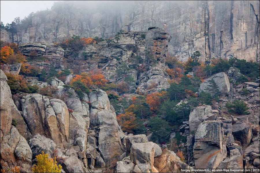 Осенние краски Долини Привидений