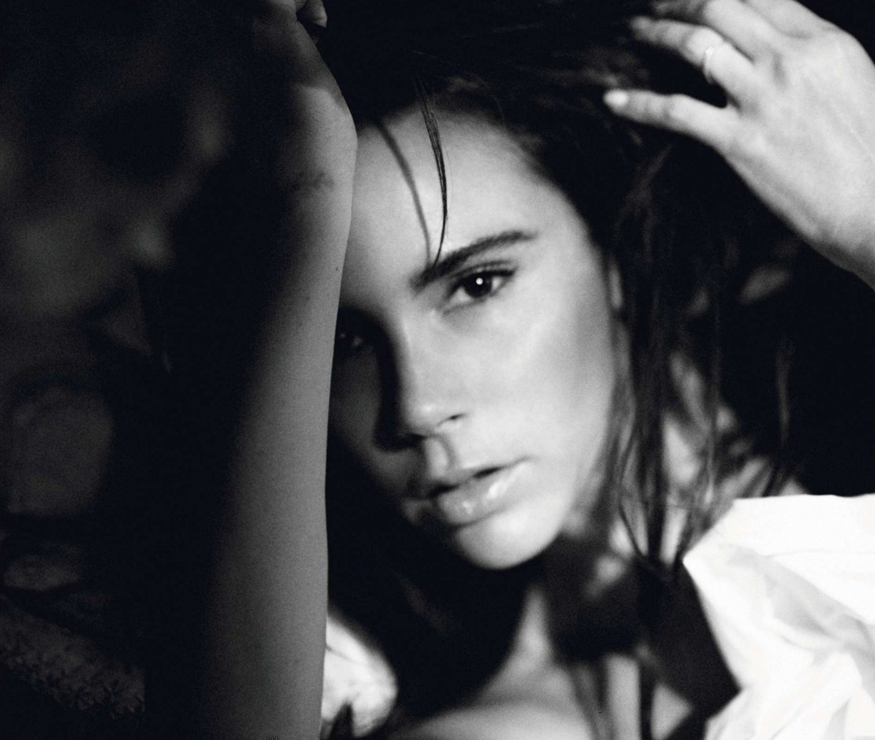 Виктория Бекхэм / Victoria Beckham - Queen Victoria by David Sims in Vogue Paris december/january 2013/14