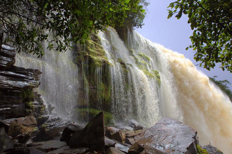 Водопад Ача