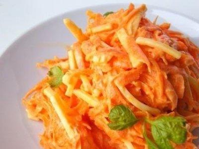 Скорый салат на каждый день