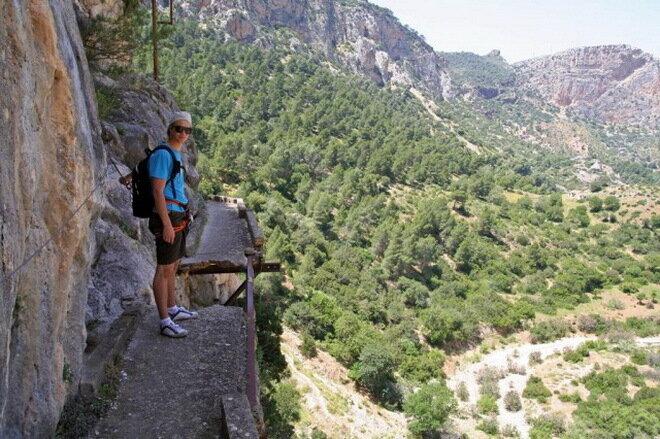Королевская тропа (El Caminito Del Rey) в Испании