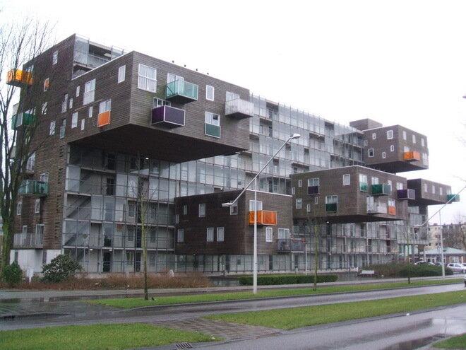 Дом Wozoco. Амстердам