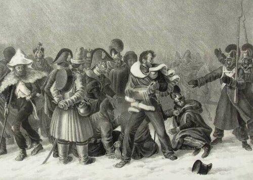 Французы на Березине в 1812 году