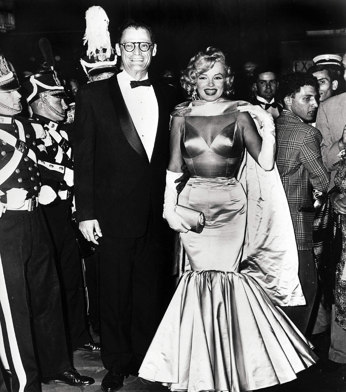 00/00/0000. File pictures of Arthur Miller and Marilyn Monroe