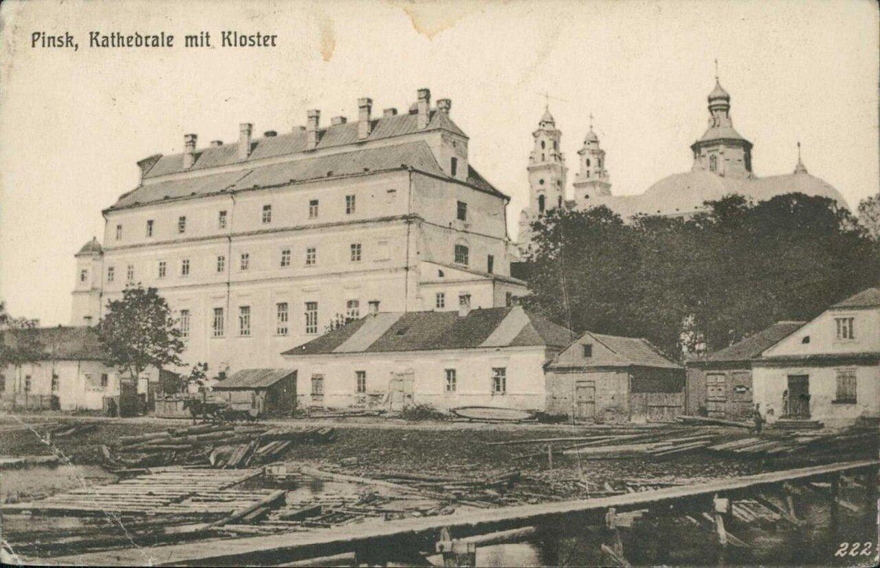 Костел св. Станислава и Францисканский монастырь