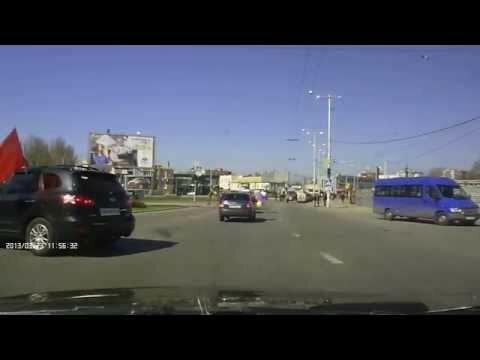 Нападение на авто колонну пророссийски настроенных граждан.