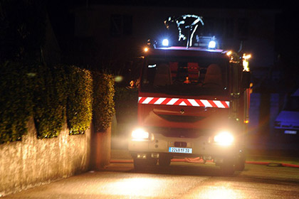 Ради встречи со своей подругой француз совершил угон пожарной машины