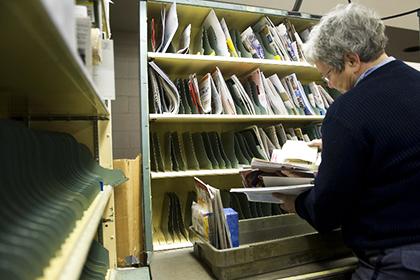 Почта доставило письмо 69-летней давности