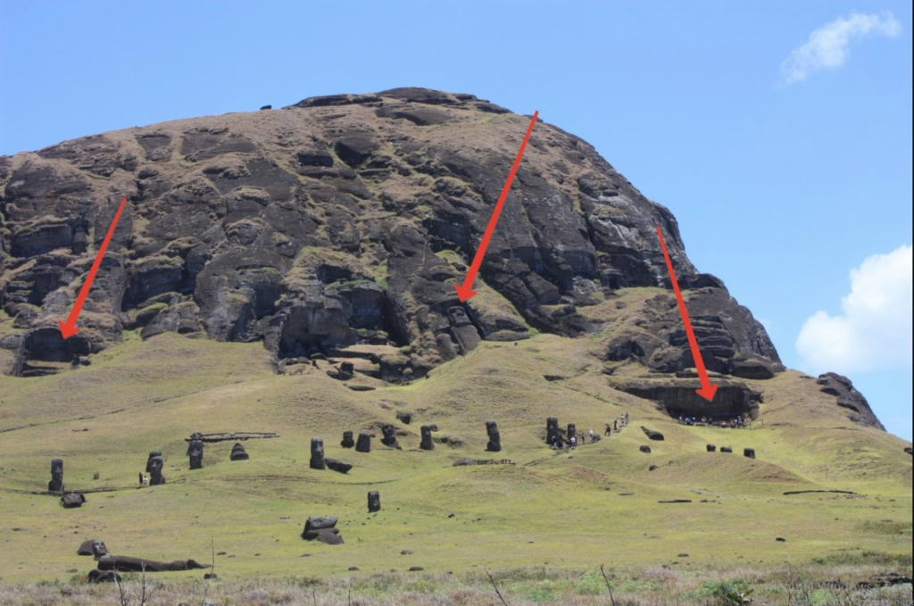 Где рождались статуи острова Пасхи