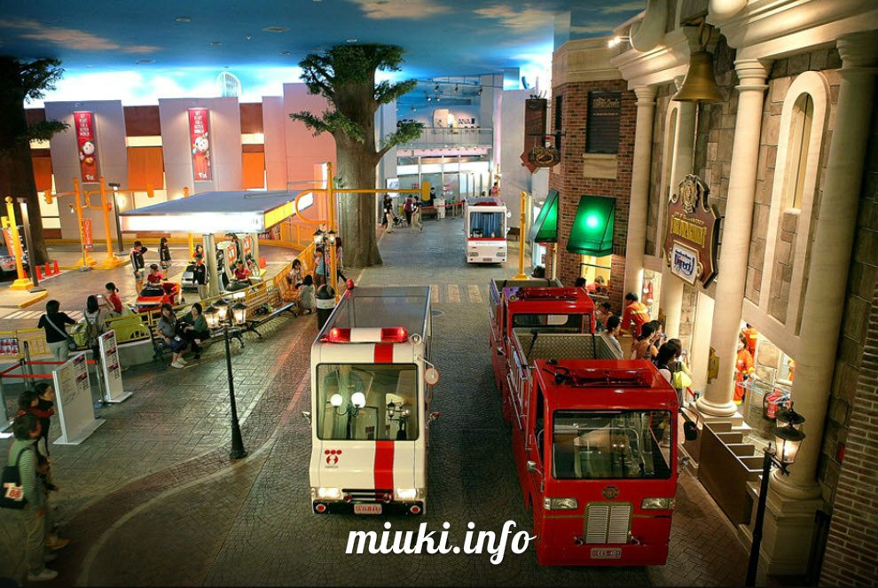 KidZania – город детей в Токио