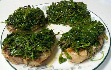 Бутерброды с первыми травами