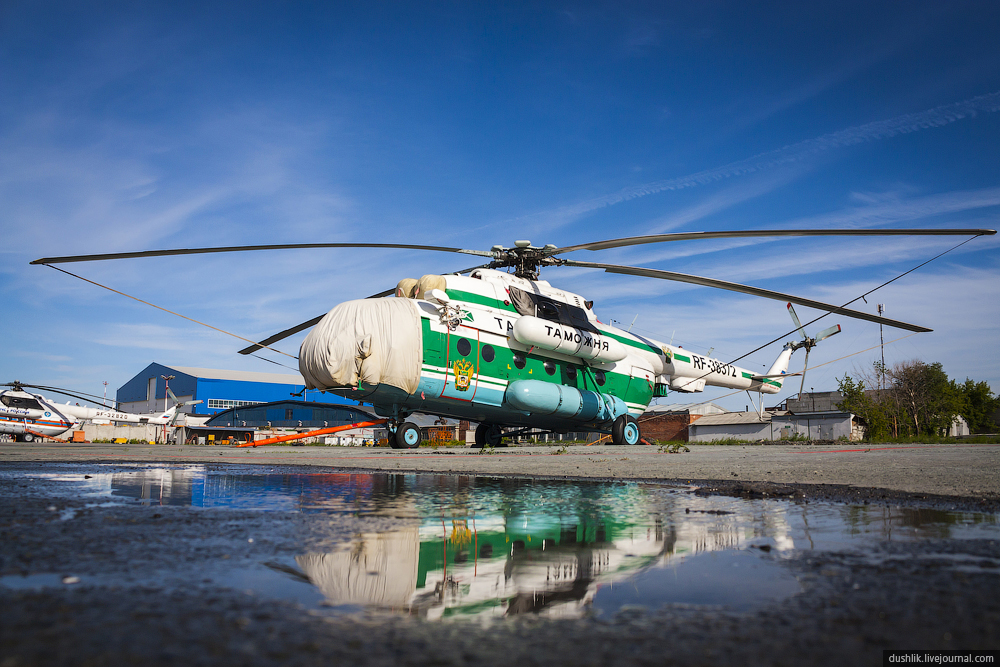 Июньский споттинг в Кольцово. Вертолётная тема