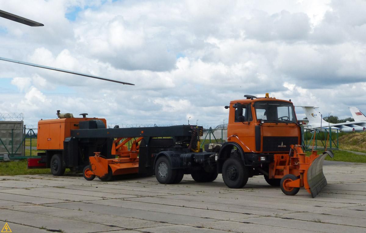 Выставка аэродромной спецавтотехники аэропорта «КИЕВ»